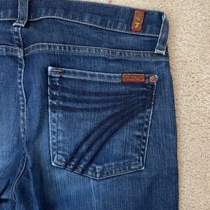 7 For All Mankind Dojo Flare Leg Denim
